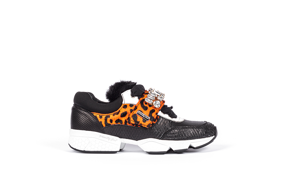 orange sneaksers, orange sneakers, orange sneakers, sneakers with applications, friendly fire sneakers, eternal collection